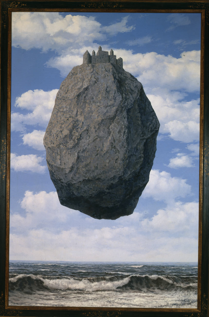Rene' Magritte, Le Chateau de Pyrenees, 1959 Photo © The Israel Museum, Jerusalem by Moshe Caine