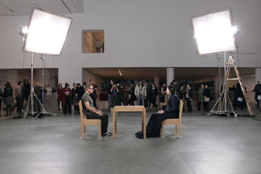 MICHELE CIOLINO in MARINA ABRAMOVIĆ, The Artist is Present, 2010