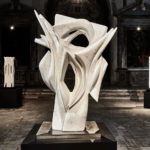 LA PORT DE RÊVES - 1995, Statuary Carrara marble - 160 x 120 x 70 cm - ph. Daniele Cortese
