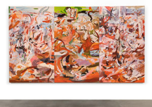 Cecily Brown Have you not known have you not heard triptych 2011