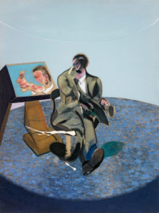 Francis Bacon Portrait of George Dyer in a Mirror