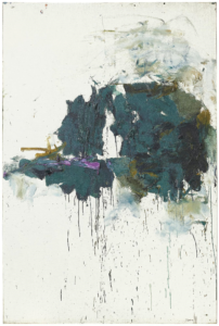Joan Mitchell Violet Cypress 1964