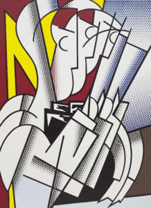 Roy Lichtenstein The conductor 1975