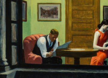 Edward Hopper, Stanza a New York, 1932