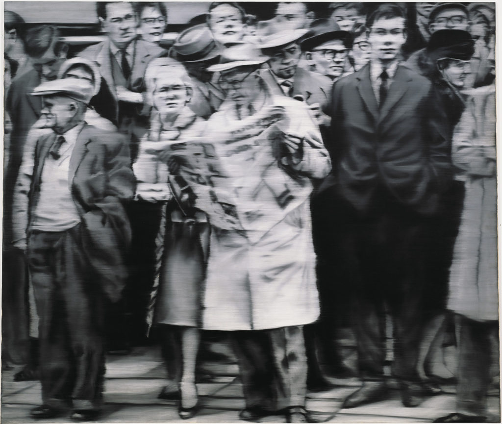 GERHARD RICHTER Group of People, 1965 Private Collection © Gerhard Richter 2019 (08102019)