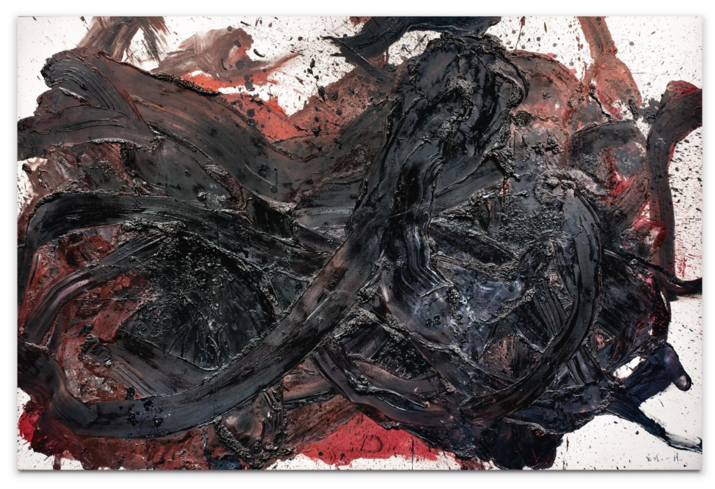 Kazuo Shiraga, Tentaisei soushiko (the winged tiger), 1960