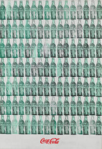 ANDY WARHOL Green Coca-Cola Bottles, 1962 Whitney Museum of American Art, New York; acquistato con I fondi di/purchase with funds from the Friends of the Whitney Museum of American Art 68.25. © 2020 The Andy Warhol Foundation for the Visual Arts, Inc. / Licensed by DACS, London.